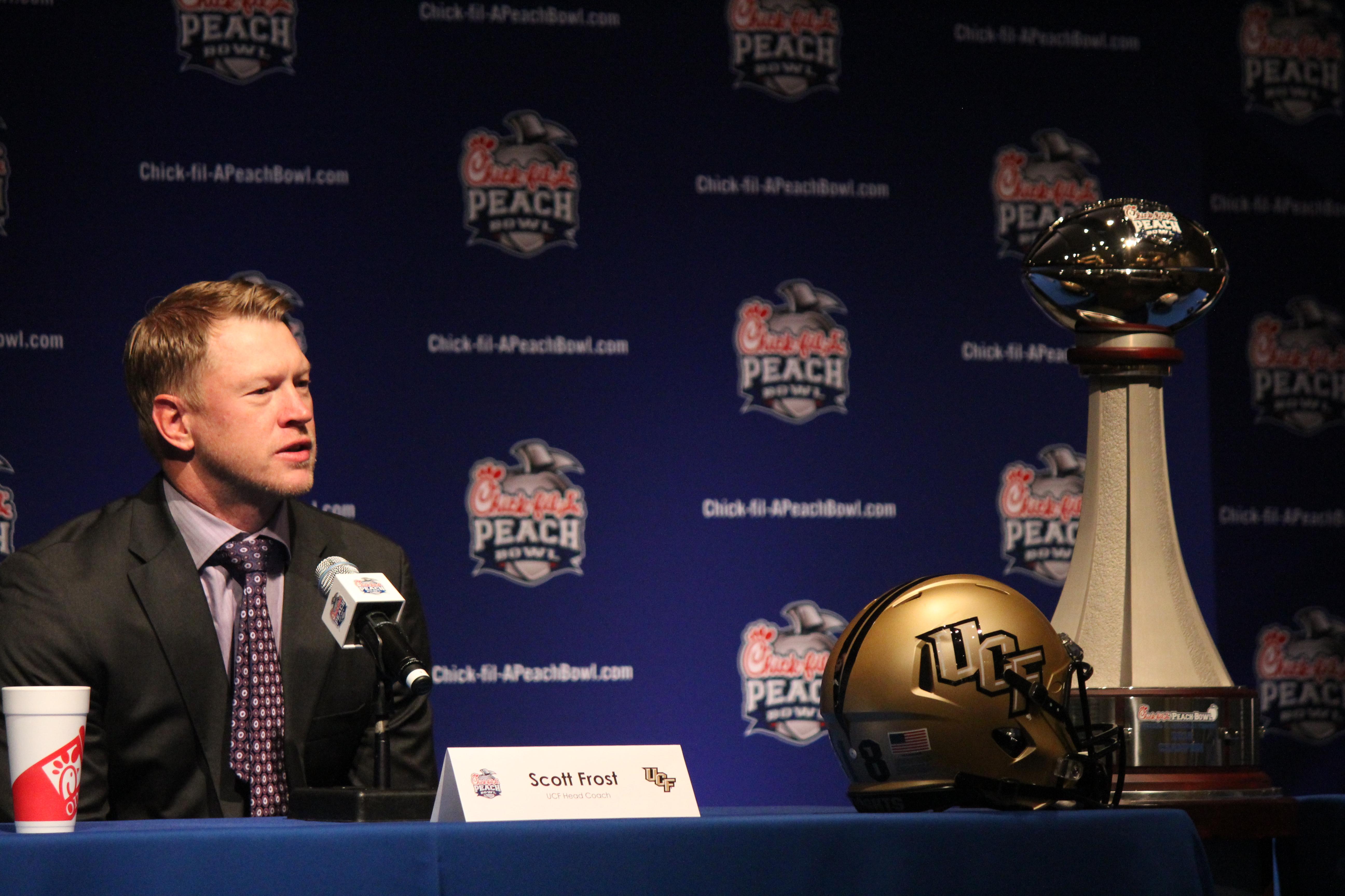 Peach Bowl Prep: Coaches Press Conference