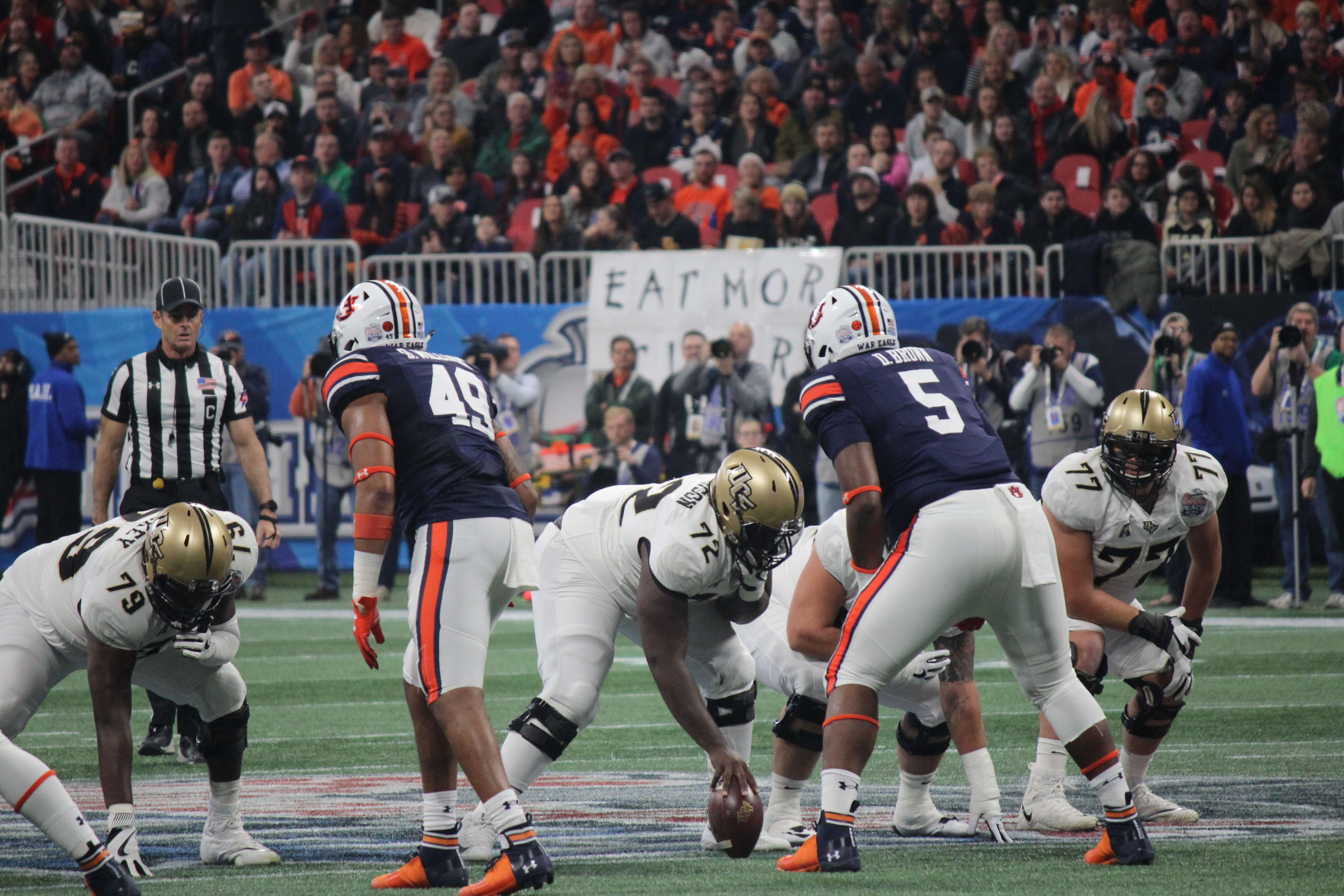 Gallery: UCF Tops Auburn 34-27 in the Peach Bowl