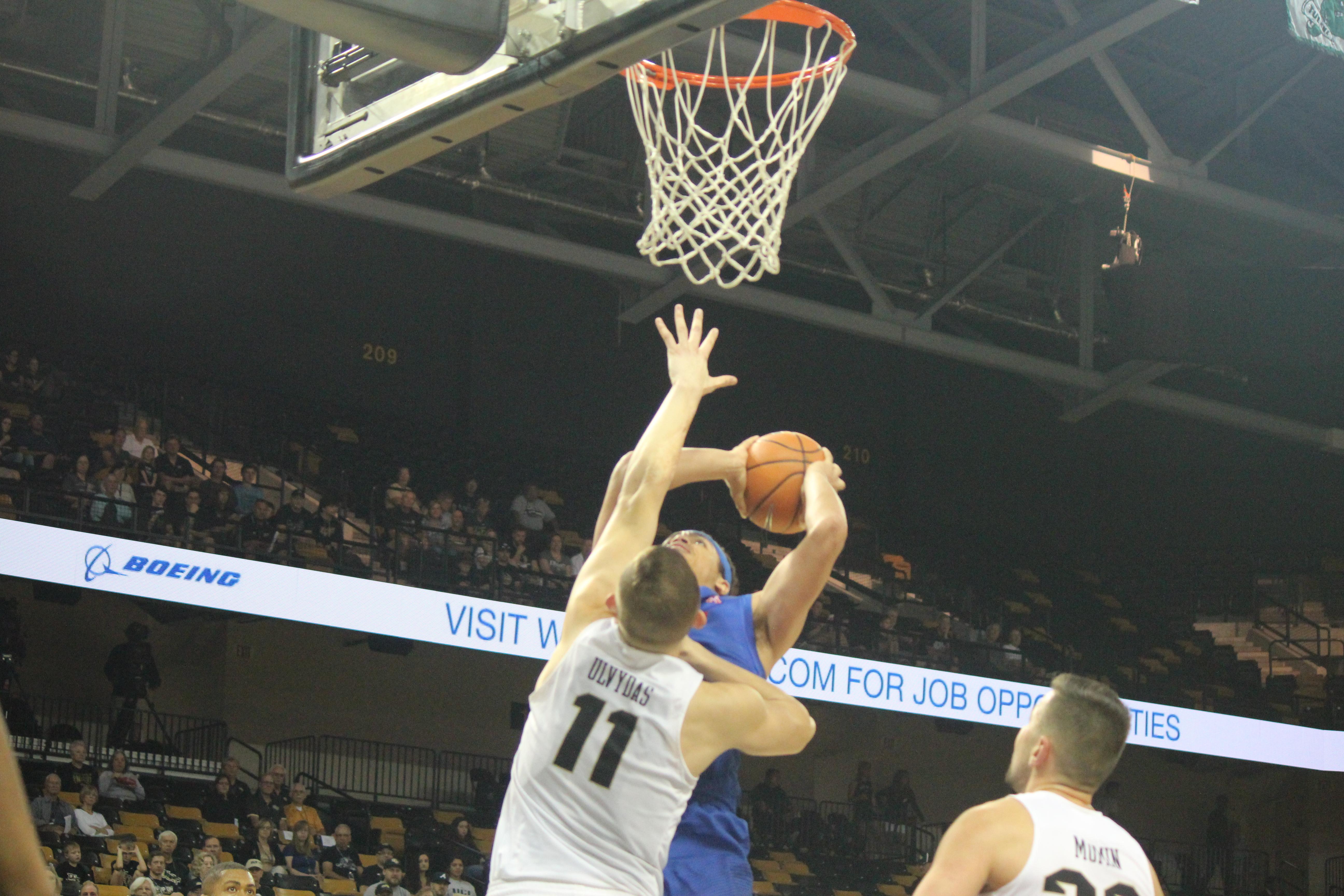Gallery: UCF Men's Basketball Tops SMU 52-37