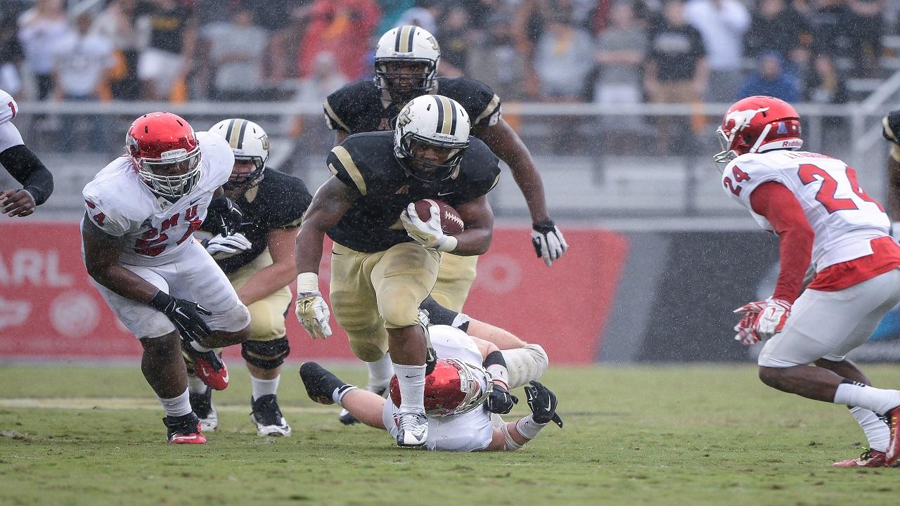 NCAA Football 2014: SMU vs Central Florida NOV 22